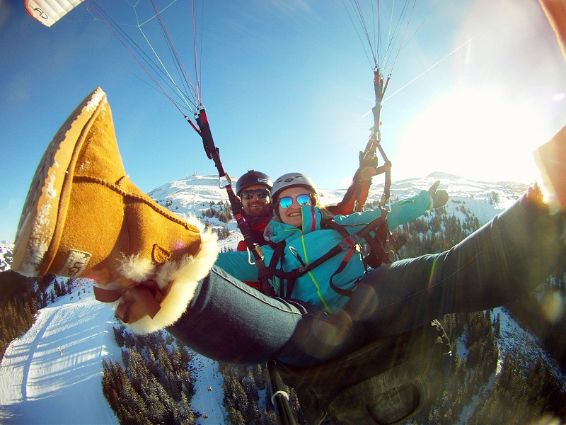 Paragliding in Zell am See