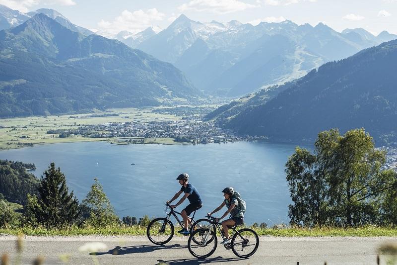 bike trails in Zell am See - Hundstein