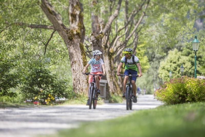 bike trails in Zell am See - Sonnberg