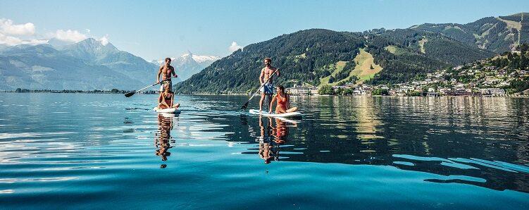 SUP am Zeller See
