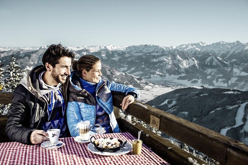 Restaurants in the ski resort schmitten