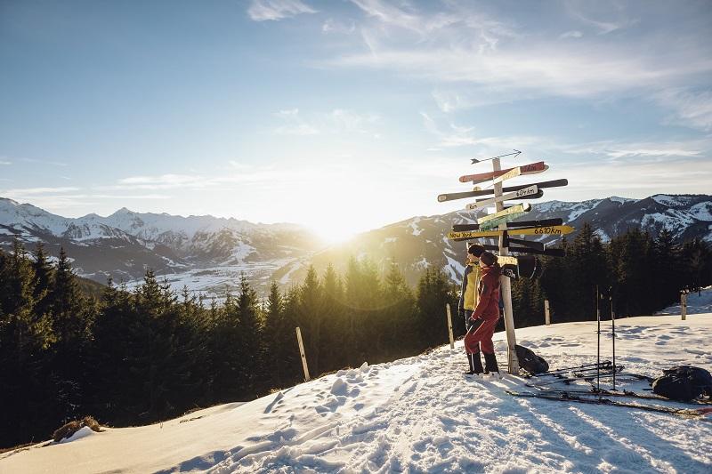 Skitour auf den Ronachkopf in Zell am See