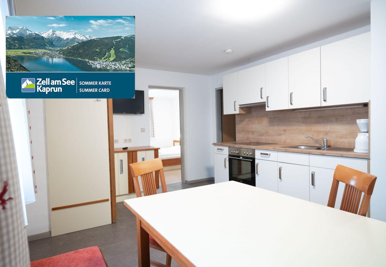 Gemütliche Ferienwohnungen im Zentrum von Zell am See mit Zell am See-Kaprun Sommerkarte