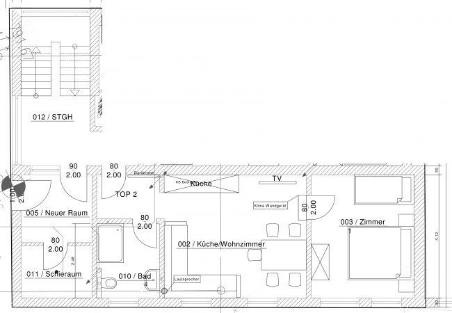 Ferienwohnung in Kaprun - Amelies Terace Apartment
